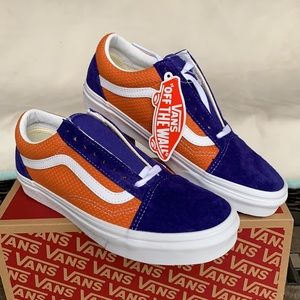 VANS OLD SKOOL P & C Royal Blue/Apricot Buff WMNS